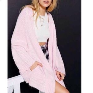 MELLOW CARDIGAN IN BABY PINK UNIF